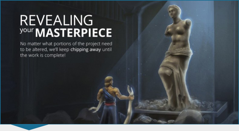 Kihada Venus Statue Step 5