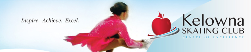 Kelowna Skating Club banner